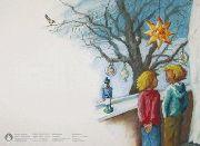 Weihnachtskarte »Winterfenster«