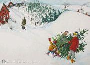 Weihnachtskarte »Alle Jahre wieder«