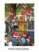 Weihnachtskarte »Weihnachten in Burma«
