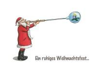 Weihnachtskarte »Glaskugel«