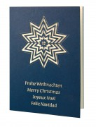 Weihnachtskarte »Joyeux Noël«