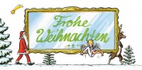Weihnachtskarte »Weihnachtsglück«