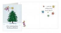 Weihnachtskarte »Malerisches Weihnachtsfest«