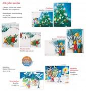 Weihnachtskartenserie »Alle Jahre wieder«, Set
