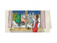 Weihnachtskarte »Geschenk«