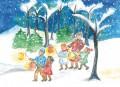 Weihnachtskarte »Winterleuchten«