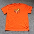 T-Shirt MANTHOC orange, Größe L